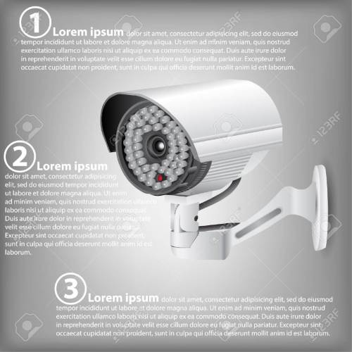 small resolution of infographic diagram of cctv security camera vector illustration eps 10 for business and technology