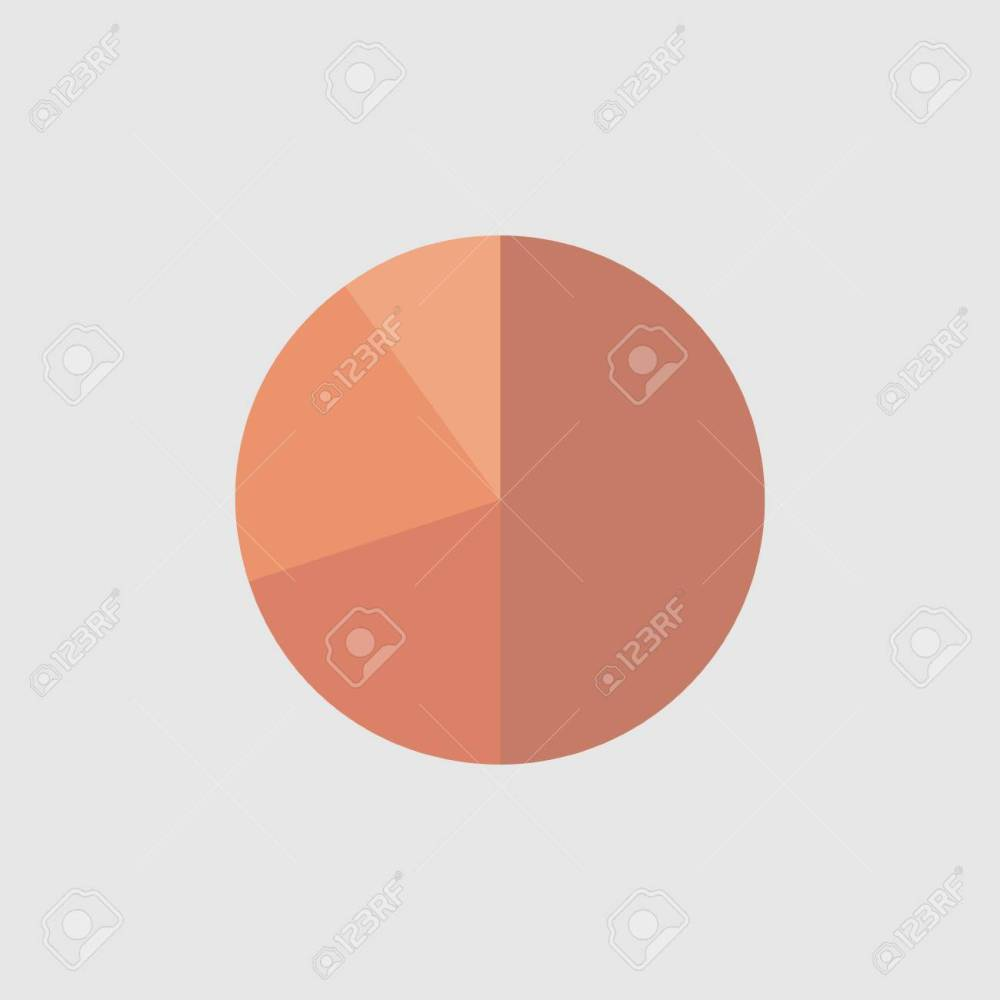 medium resolution of business colorful graph pie chart business concept cherry graph vector illustration stock vector
