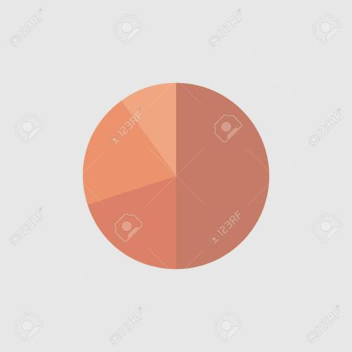 small resolution of business colorful graph pie chart business concept cherry graph vector illustration stock vector