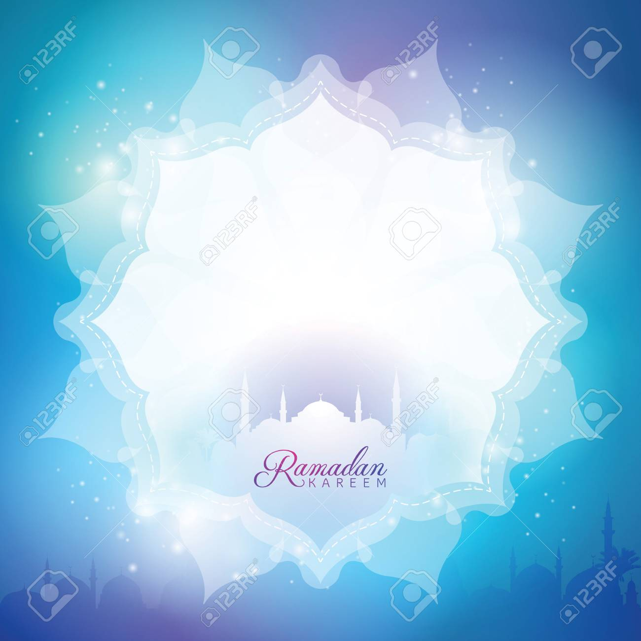 islamic background greeting banner