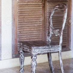 Handmade Wooden Chairs Infinity It 8500 Massage Chair Shabby Vintage Wood Carving Stock Photo 63446541