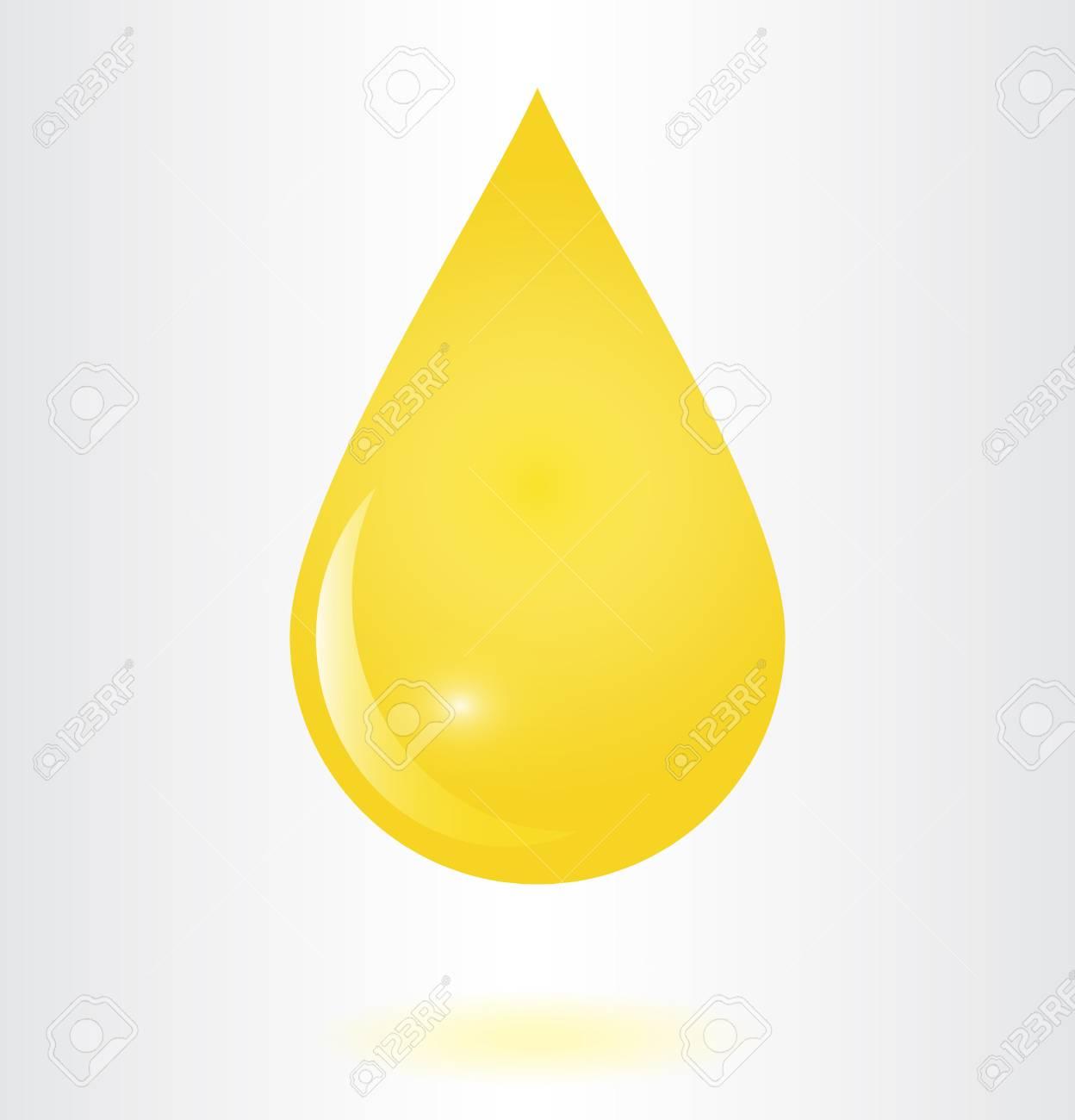 oil drop vector illustration