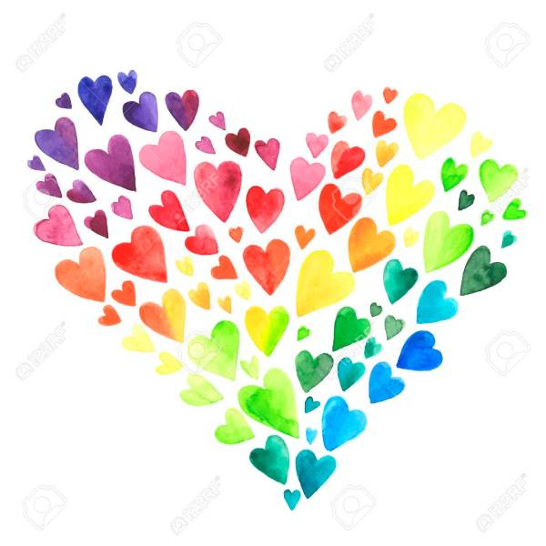 hearts colors # 0