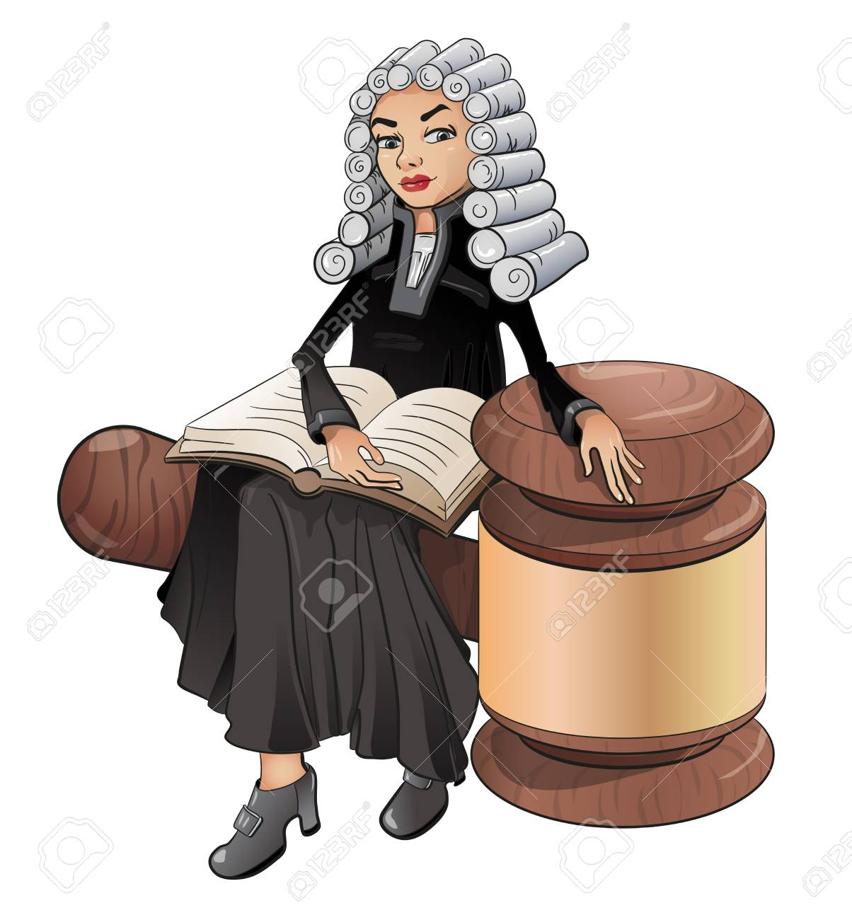 a judge is a