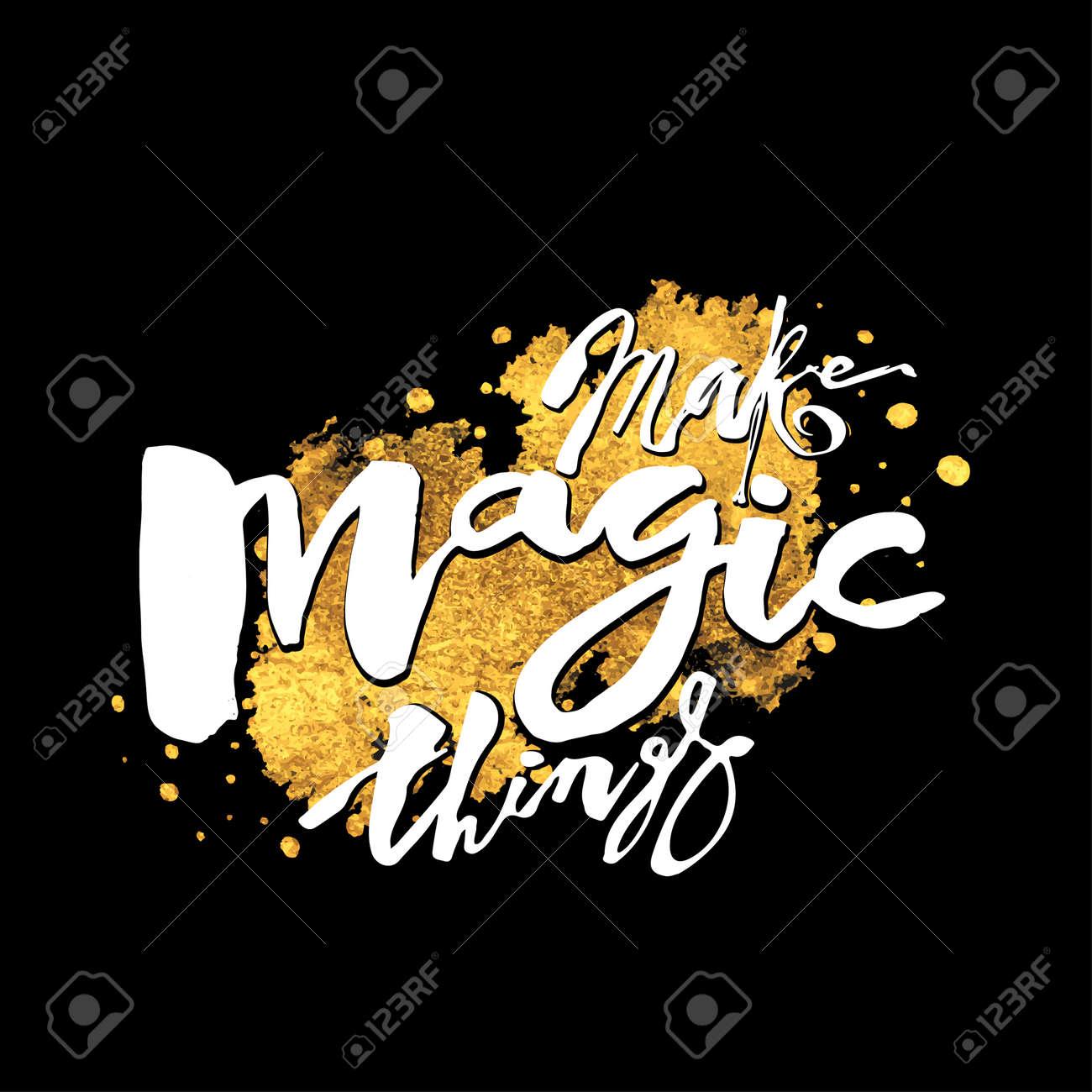 make magic things hand