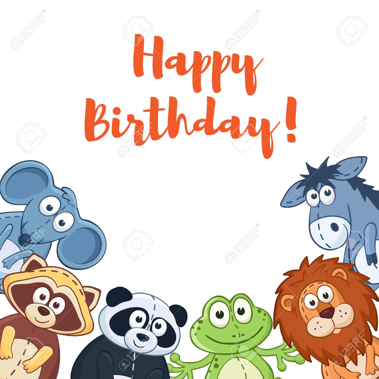 happy birthday card with