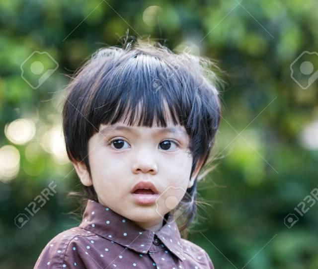 Portrait Of Asian Thai Cute Little Boy Stock Photo 42855135
