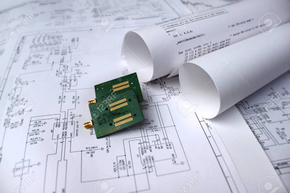 medium resolution of printed circuit board circuit diagram software technology stock photo 75710908