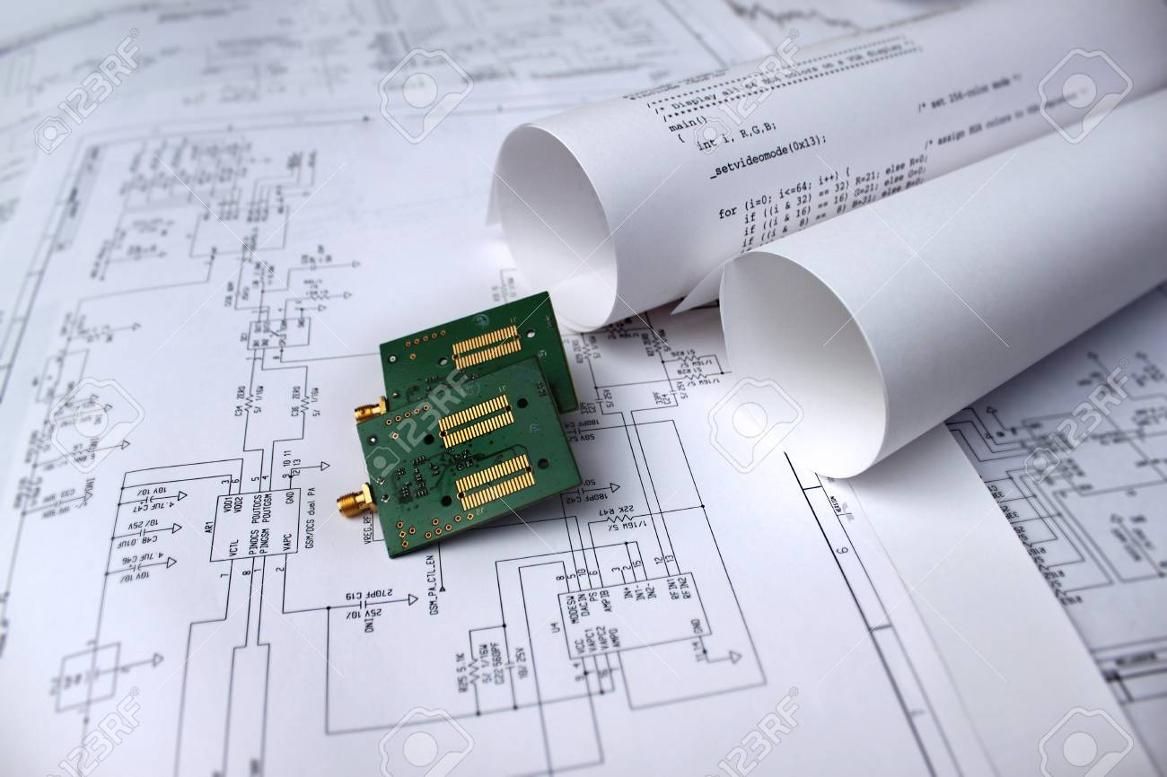 hight resolution of printed circuit board circuit diagram software technology stock photo 75710908