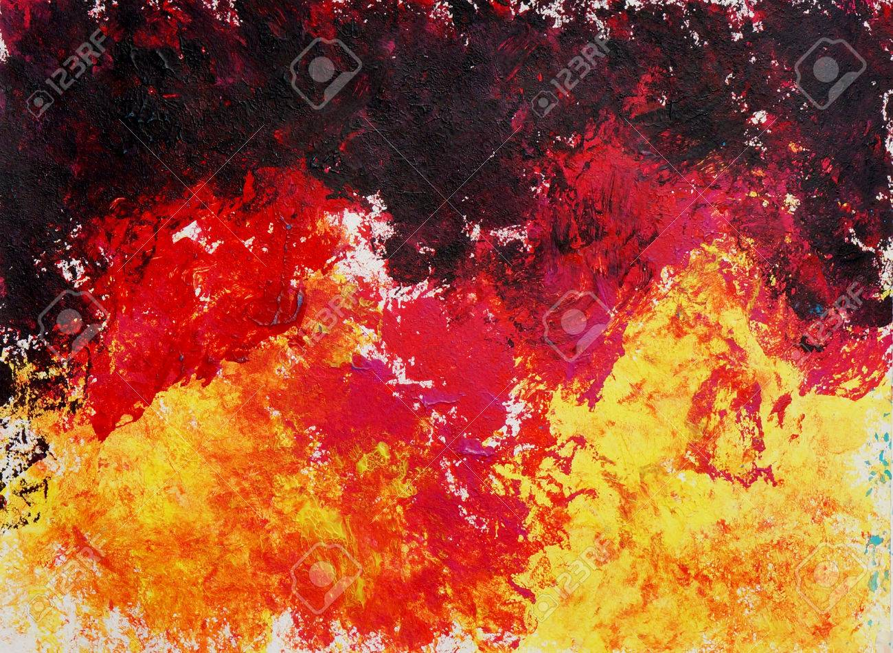 abstract art painting raster