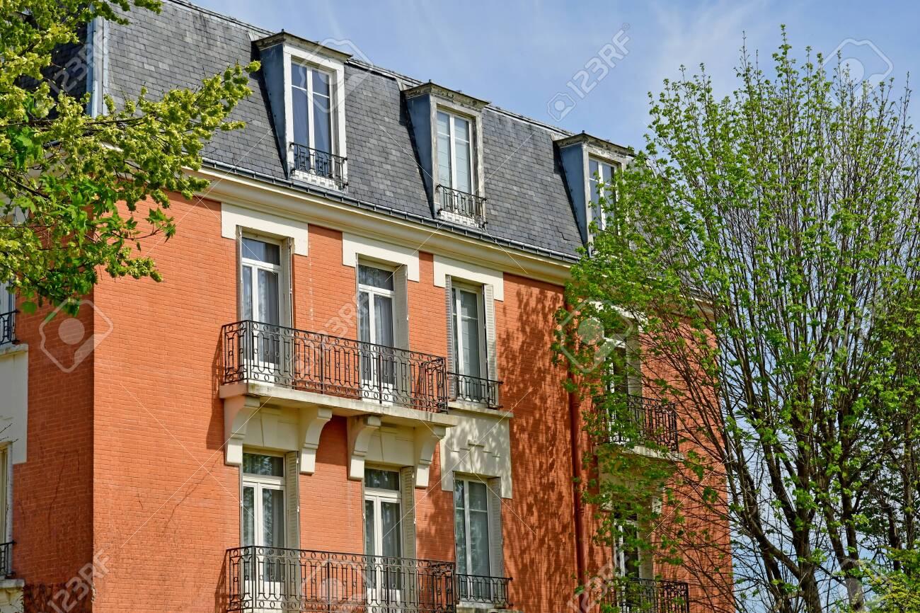 Saint Germain En Laye France April 18 2019 Pavillon Henri