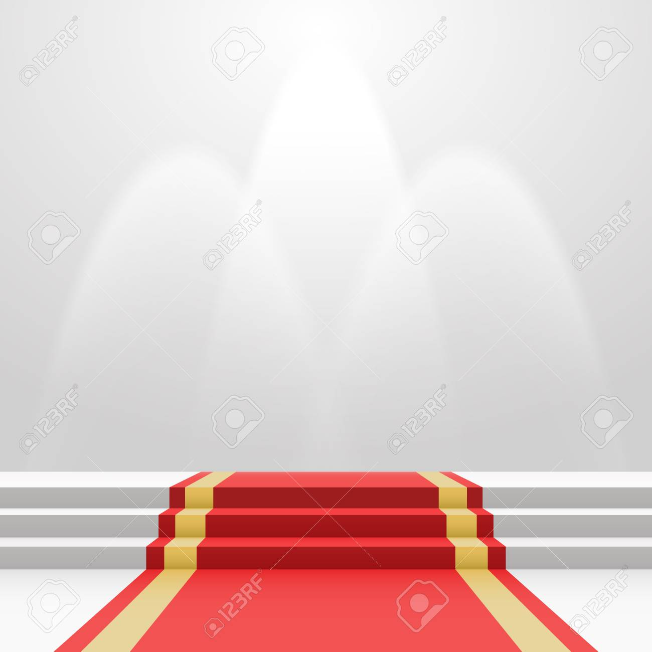 Roter Teppich Gala Stock Photo