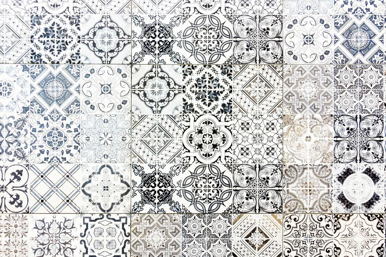 vintage ceramic tiles wall decoration vintage floor tiles