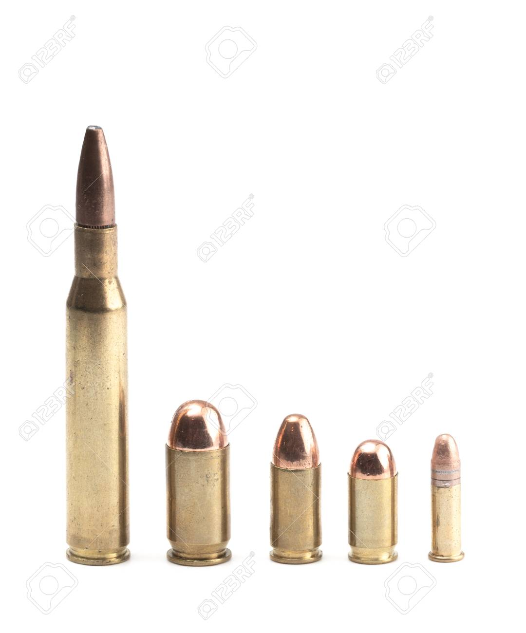 Different Bullet Sizes : different, bullet, sizes, Bullets, Various, Sizes, Shapes, Stock, Photo,, Picture, Royalty, Image., Image, 112028847.