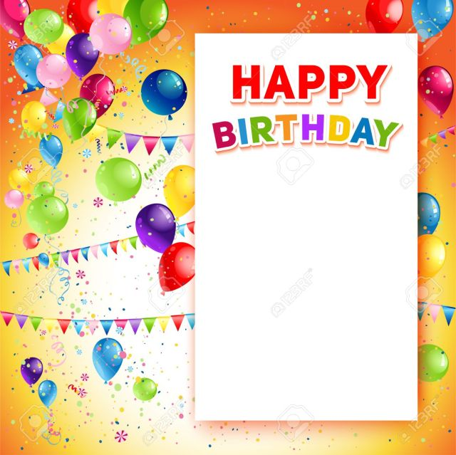 Happy birthday template free download bookmarktalkfo Choice Image