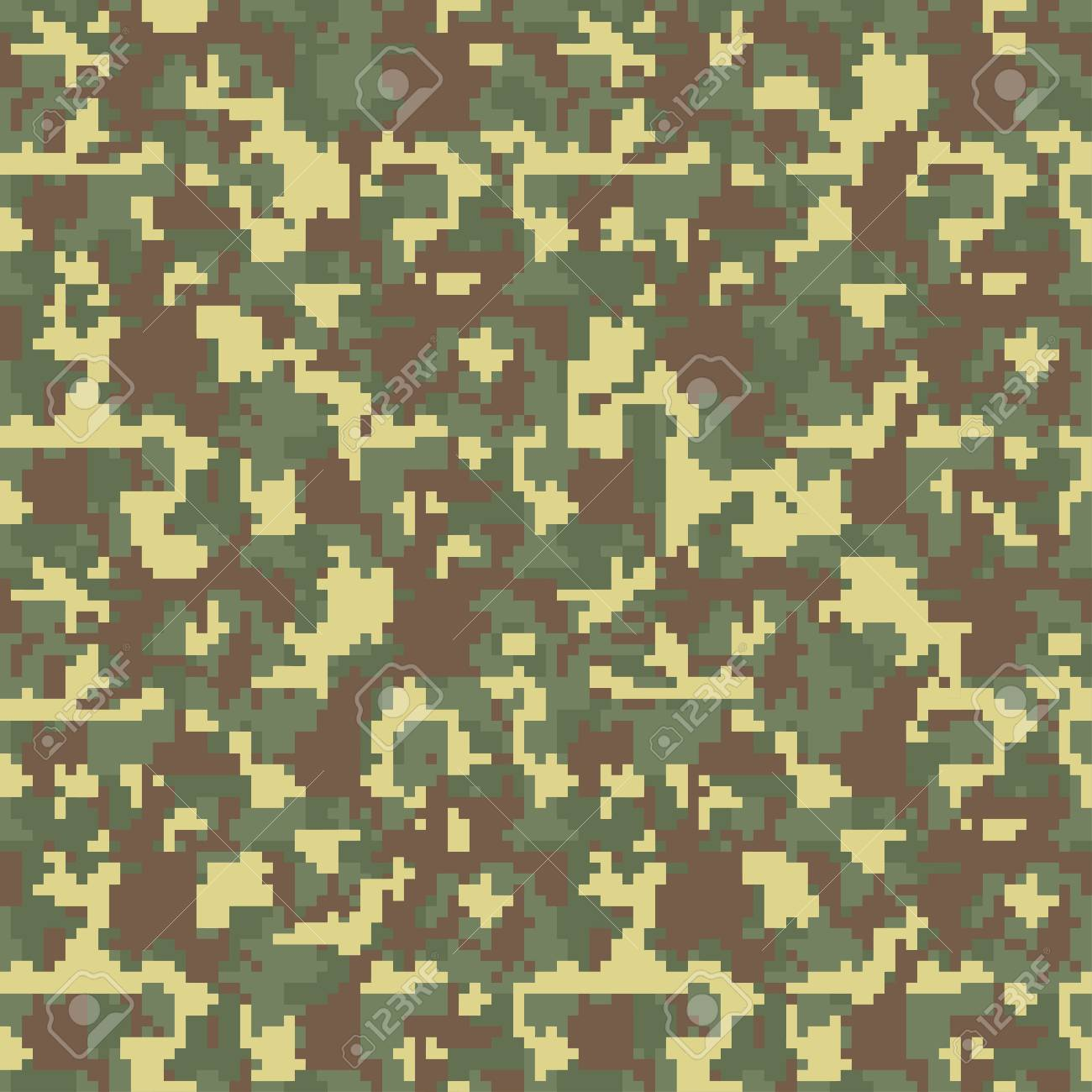 pixel camo seamless camouflage