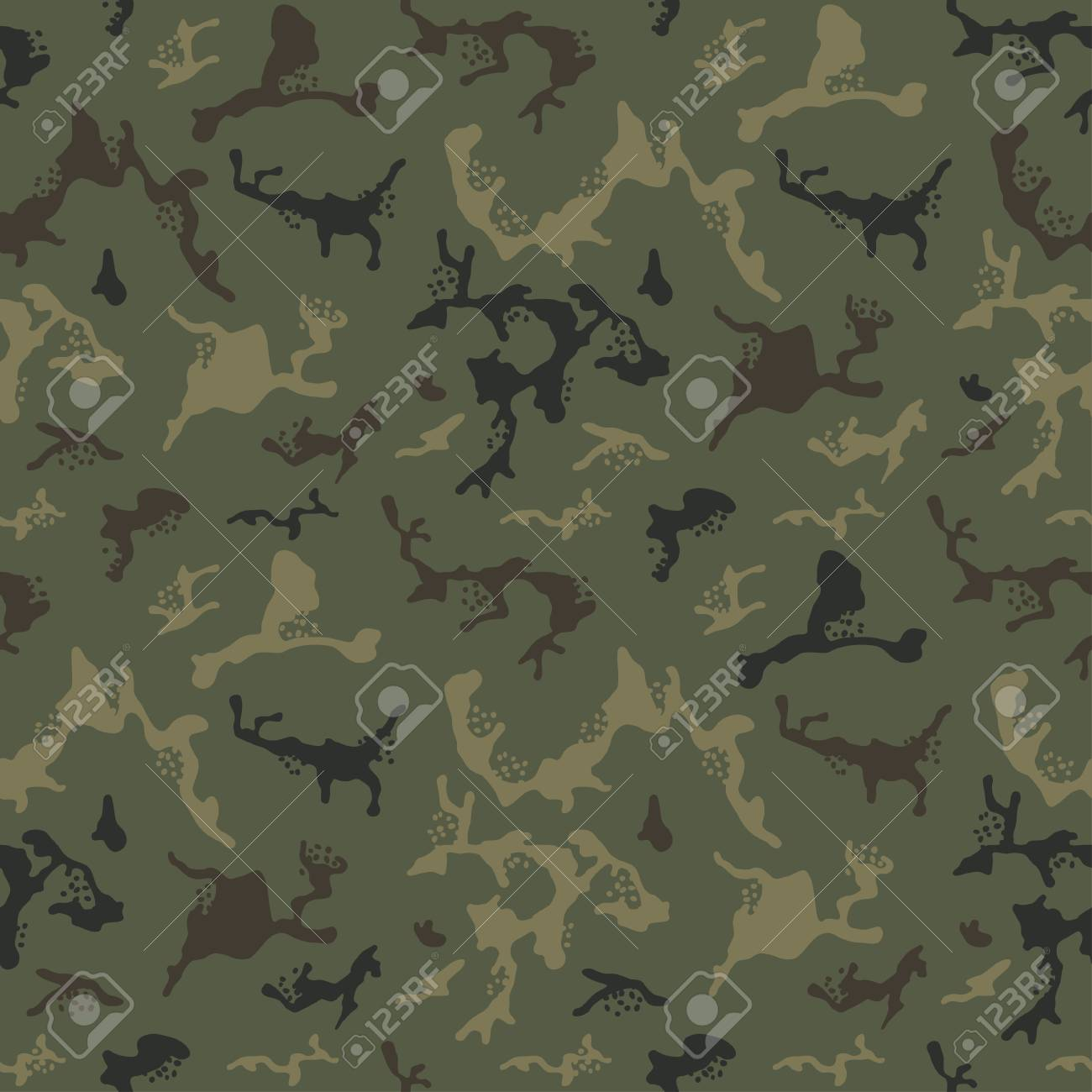 green camouflage pattern background