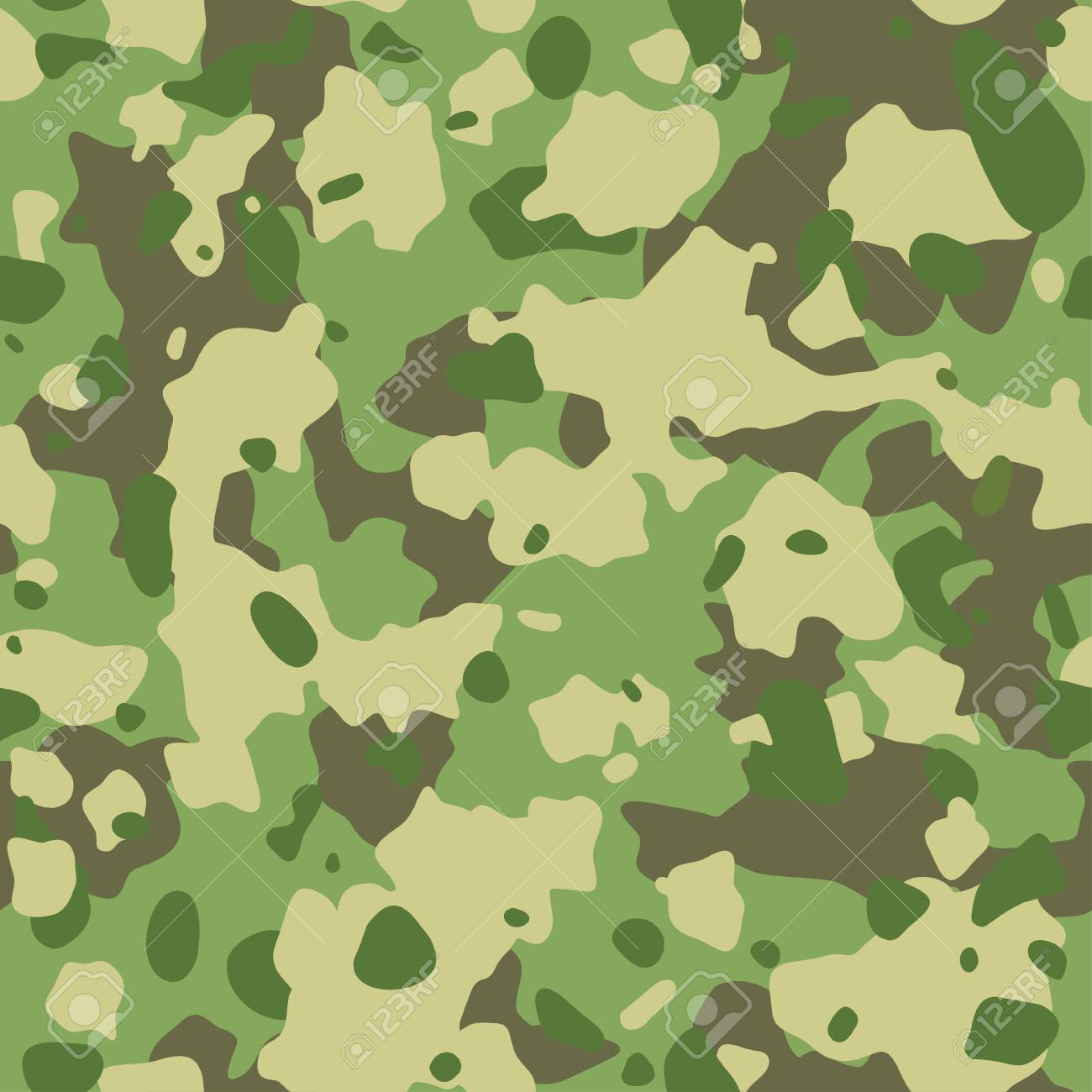 seamless army camouflage pattern