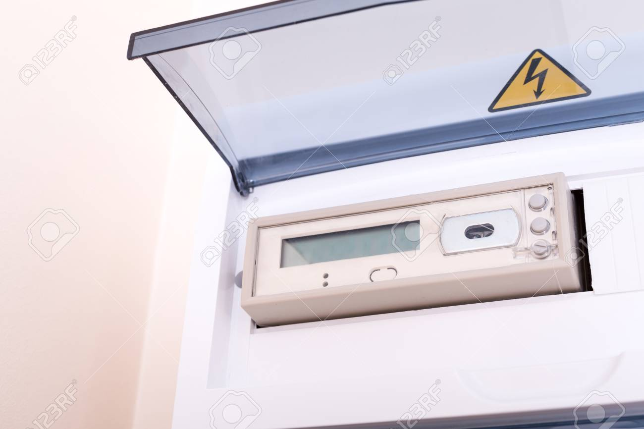 hight resolution of rcd circuit breaker board fusebox at the apartment nobody stock photo 108444207