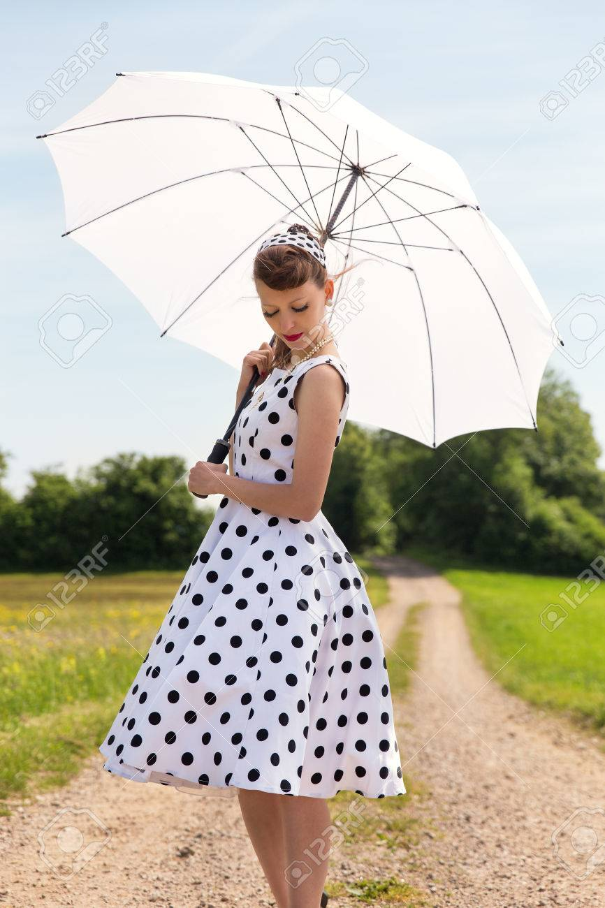 vintage fifties look with