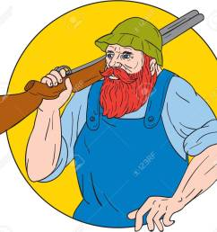 drawing sketch style illustration of paul bunyan a giant lumberjack in american folklore carrying [ 1300 x 1188 Pixel ]