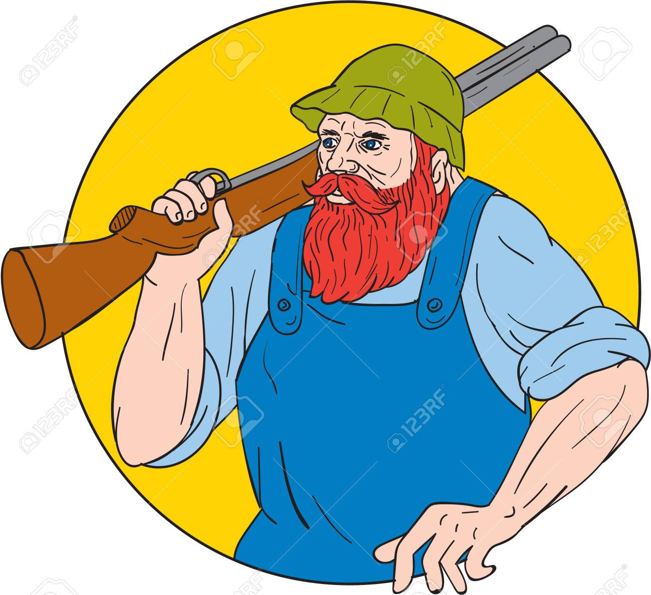 hight resolution of drawing sketch style illustration of paul bunyan a giant lumberjack in american folklore carrying