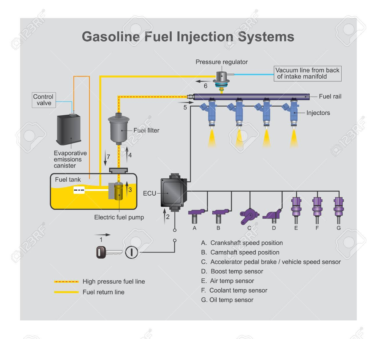 hight resolution of gasoline fuel system diagram wiring diagram technic gasoline fuel injection system is the introduction of fuel