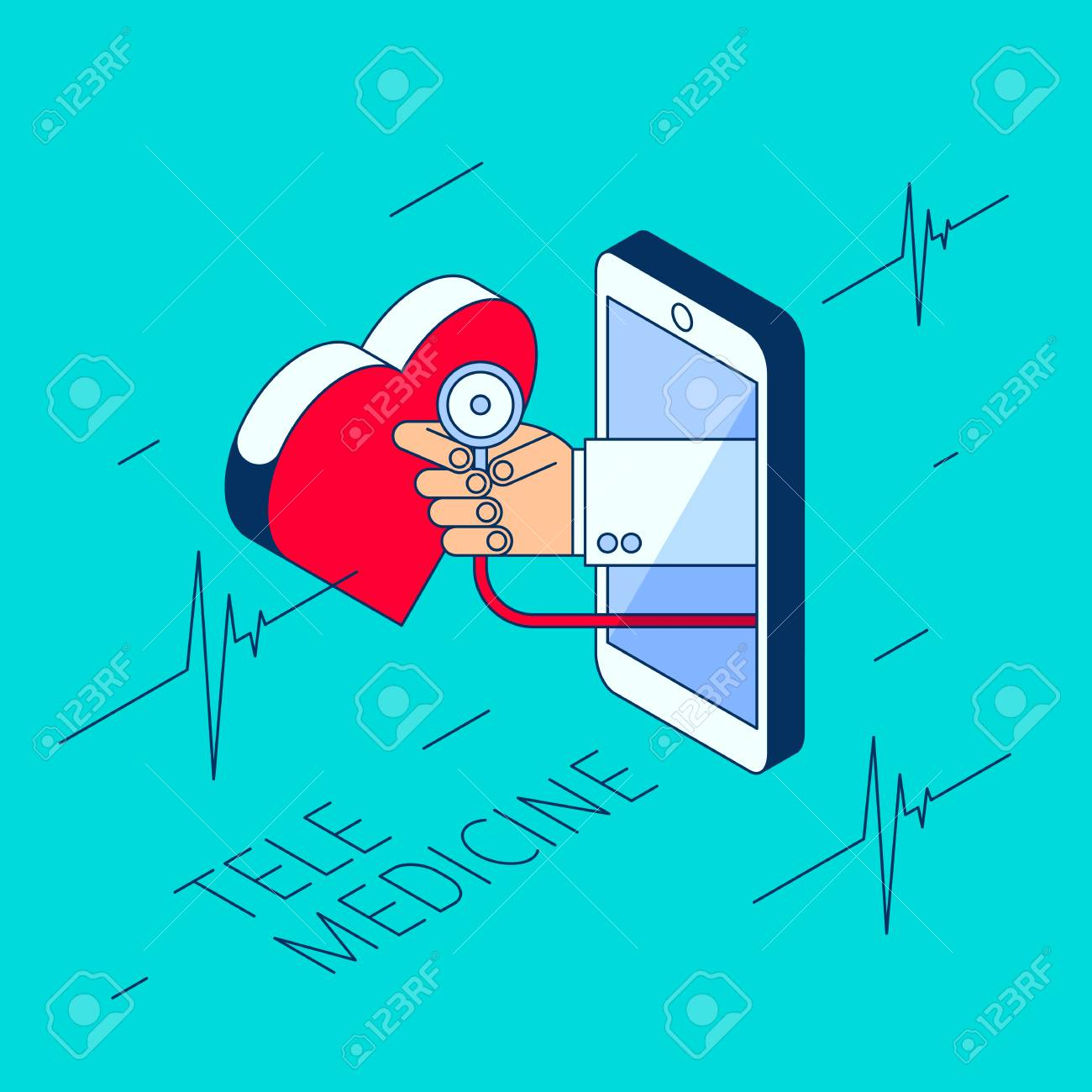 hight resolution of remote stethoscope concept diagram wiring diagram for you doctor s hand holding a stethoscope through the phone