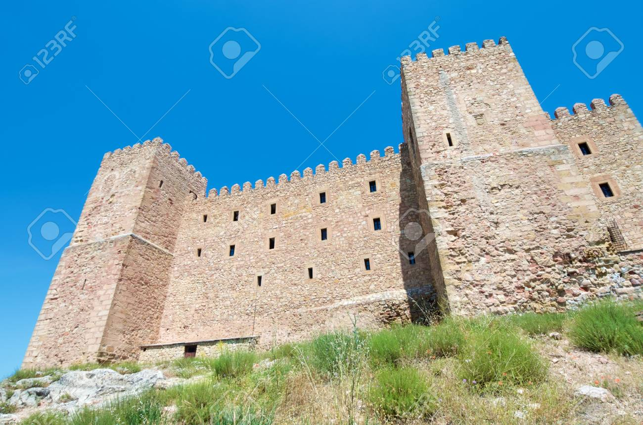 Siguenza Castle Of Arab Origin Was Built In The 12th Century