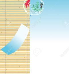 carill n de viento de goldfish con la persiana de bamb foto de archivo 83774299 [ 878 x 1300 Pixel ]