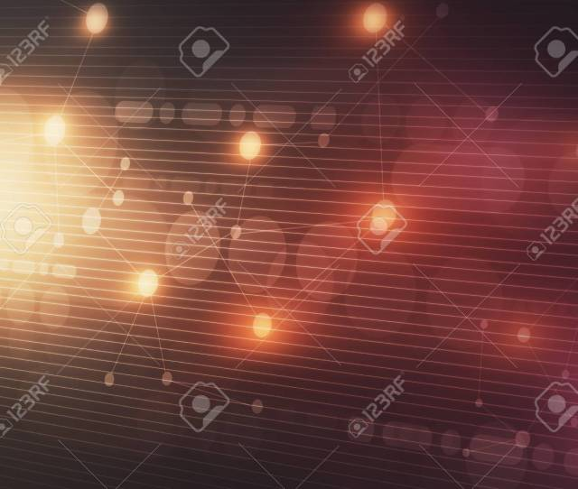 Creative Red Digital Interface Wallpaper Technology And Innovation Concept 3d Rendering Stock Photo
