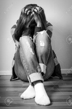 Image result for pic of depressed girl