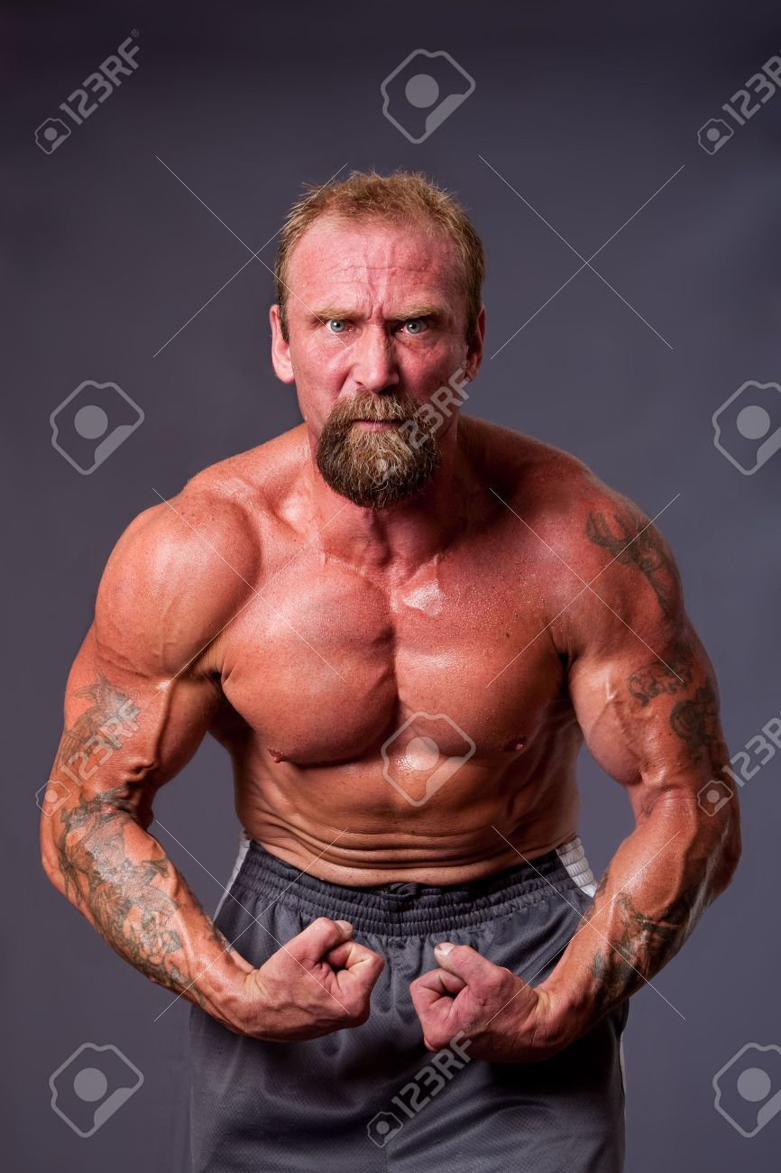 middle aged caucasian body
