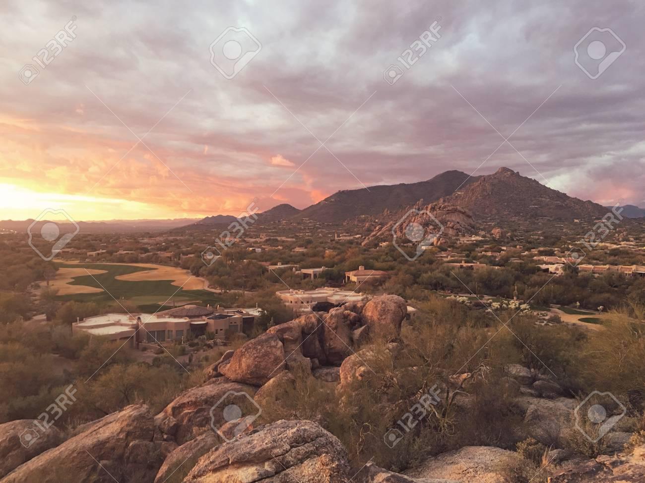 scottsdale arizona desert landscape