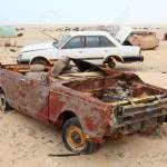 Abandoned Cars In The Desert Qatar Middle East Stock Photo Picture And Royalty Free Image Image 26562837