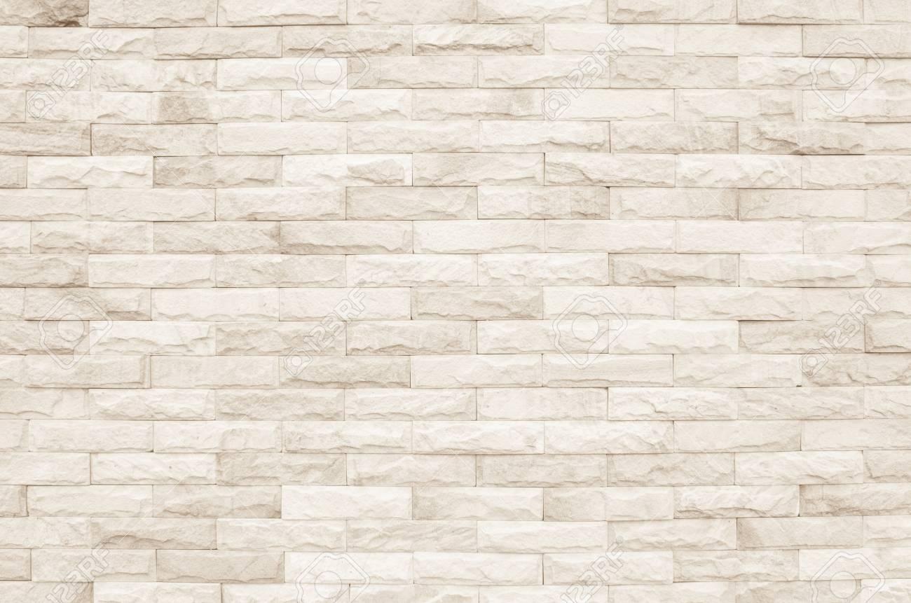 cream and white brick