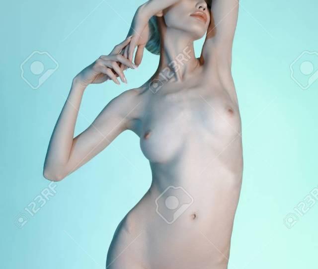 Sexy Beauty Nude Blond Woman Beautiful Naked Body Girl Stock Photo