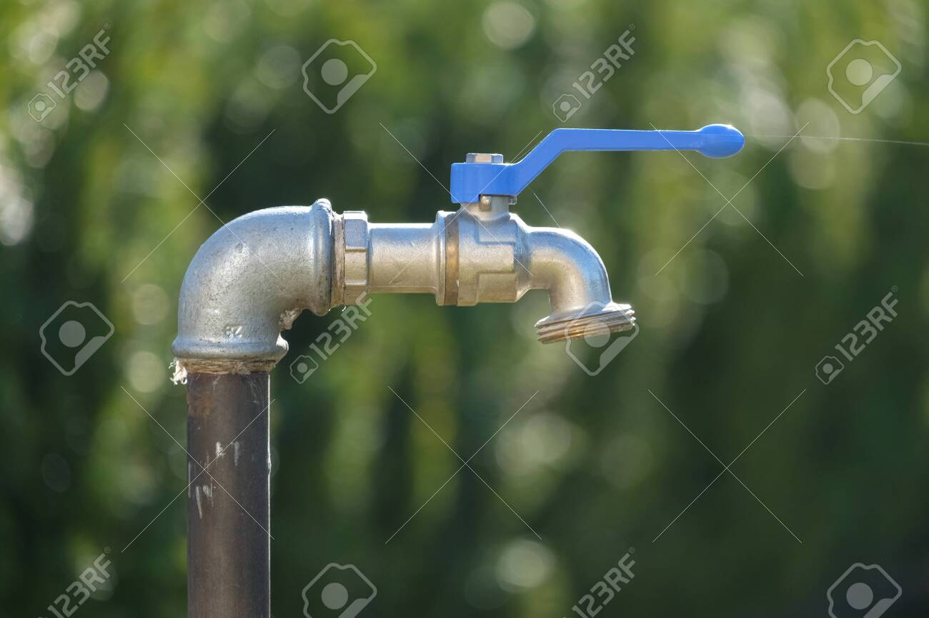 outdoor faucet in the garden ideal for outdoor water