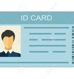 id card isolated on white background identification card icon business identity id card icon [ 1300 x 972 Pixel ]