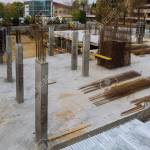 Construction Of Apartment House Foundation Steel For Home Building Stock Photo Picture And Royalty Free Image Image 118927092