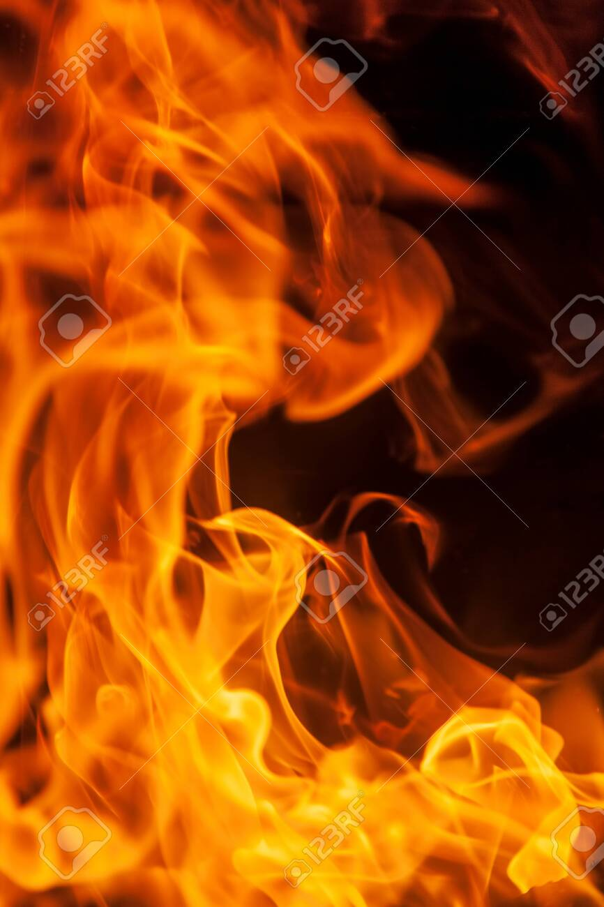 photo of flame texture