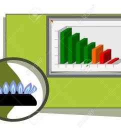 natural gas diagram stock vector 4442071 [ 1300 x 919 Pixel ]