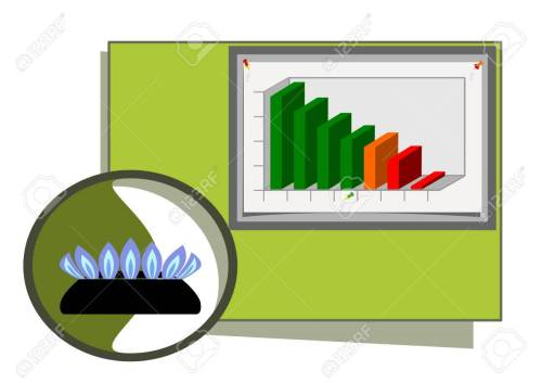 small resolution of natural gas diagram stock vector 4442071