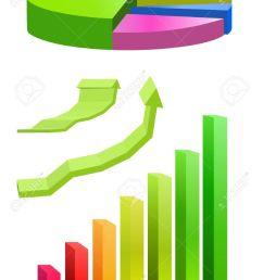 pie chart and bar graph stock vector 11889862 [ 943 x 1300 Pixel ]