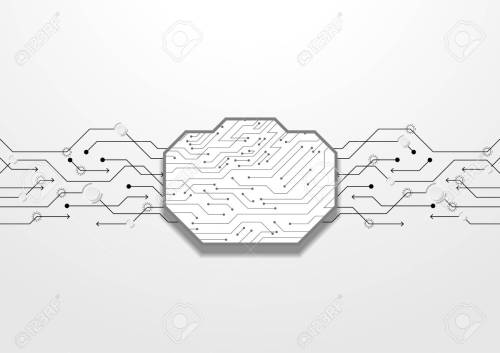 small resolution of abstract black circuit lines vector technology royalty free