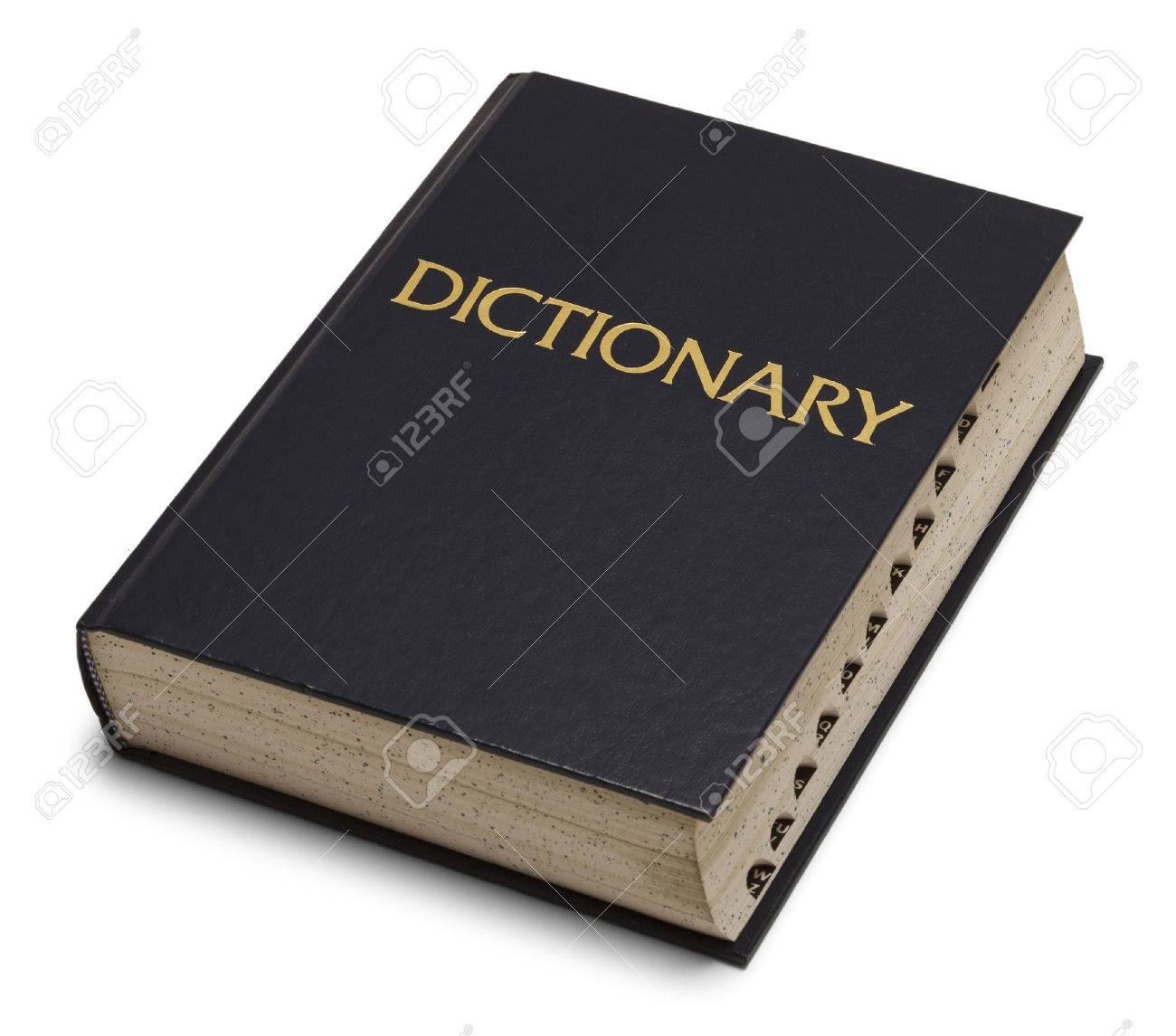 large blue english dictionary
