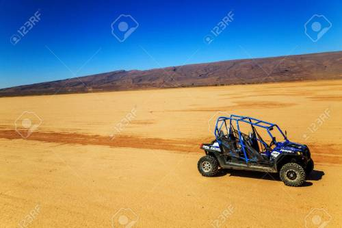 small resolution of merzouga morocco feb 22 2016 blue polaris rzr 800 with no pilot
