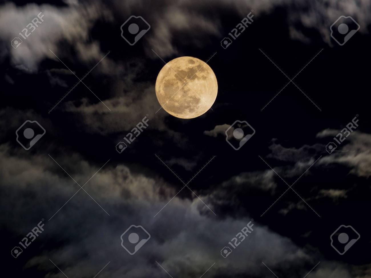 abstract dramatic night sky