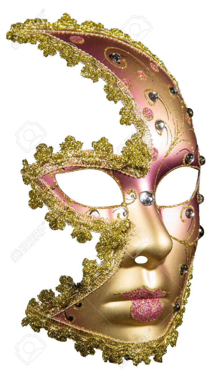 Christmas Masquerade Mask : christmas, masquerade, Carnival, Masquerade, Christmas, White, Background.., Stock, Photo,, Picture, Royalty, Image., Image, 36256684.