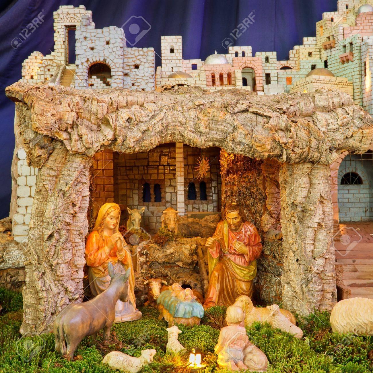 Christmas Nativity Scene Baby Jesus Mary Joseph Stock Photo Picture And Royalty Free Image Image 17274745
